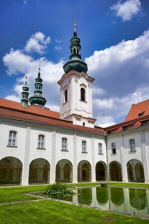 Prague Czech Republic. Strahov Monastery