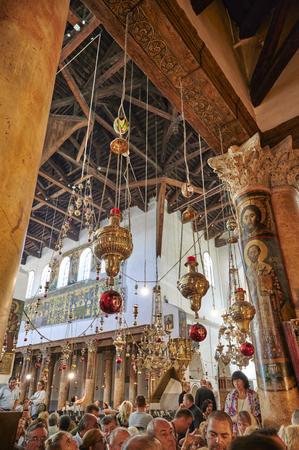 Jerusalem Bethlehem Israel. The church of the nativity birthplace of Jesus