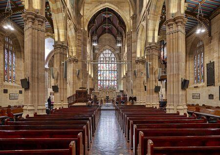 Sydney Australia. St. Andrew's Cathedral