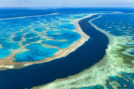 Great Barrier Reef. Whitsundays. Queensland Australia