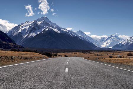 Aoraki Mount Cook New Zealand.