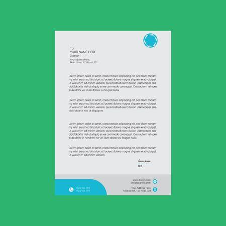 Corporate Company Letterhead
