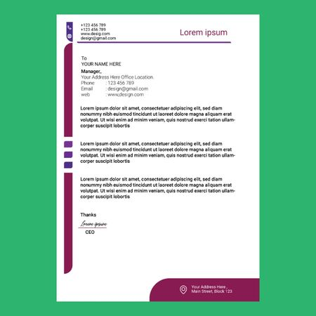 Corporate Company Letterhead