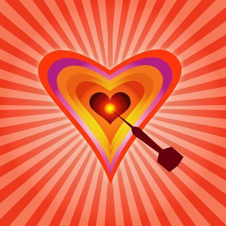 Aim On Heart !