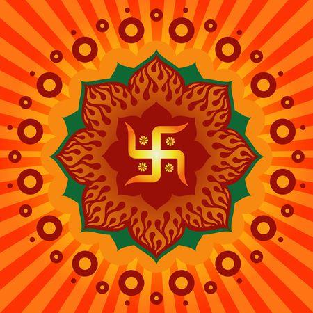 ganesh: Swastik Symbol !