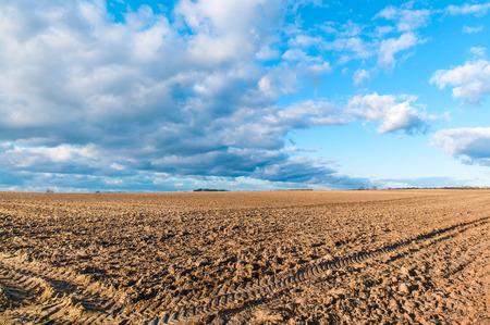 Agriculture, plowed farmland, landscape, soil
