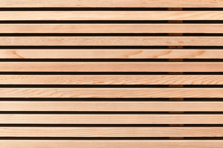 building trade: Modern wooden wall paneling; Wood cladding for background