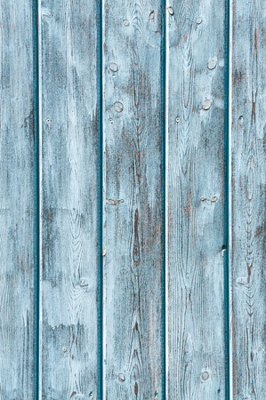 upright format: Blue painted wood panels for background or texture - upright format