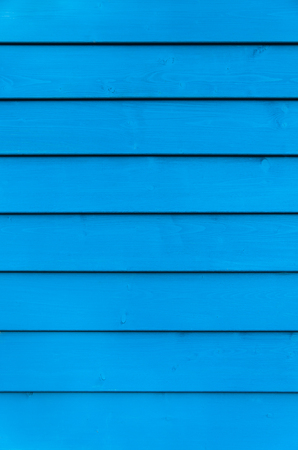 wooden boards: Blue wooden wall - upright format for background; Colored wood paneling Stock Photo