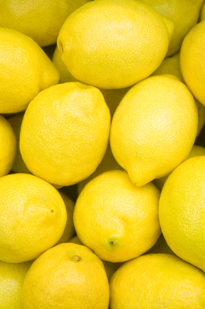 Ripe lemons; Yellow, acidic fruits; Citrus fruits; Cocktail ingredients; Sour fruits; vitamin C Imagens