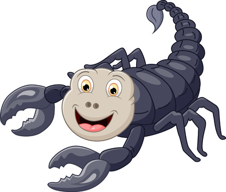 arachnid: Cartoon scorpion