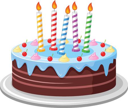birthday cake: Birthday Cake Illustration