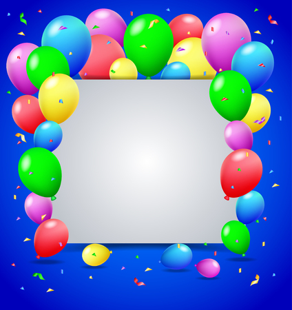 welcoming party: Birthday background