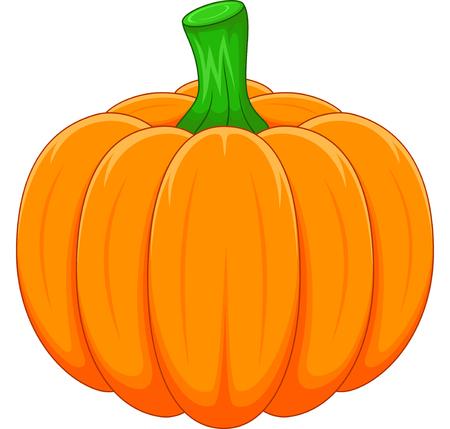 Cartoon pumpkin Stock Illustratie