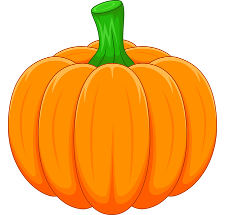 Cartoon pumpkin Vettoriali