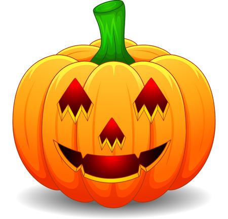 halloween symbol: Halloween pumpkin Illustration