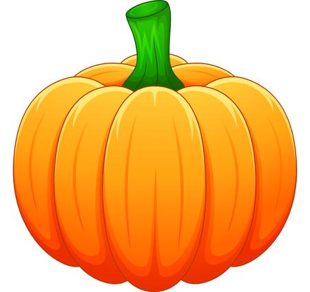Cartoon pumpkin Ilustração