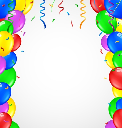 surprise party: Birthday balloons
