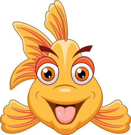 suave: Cartoon fish