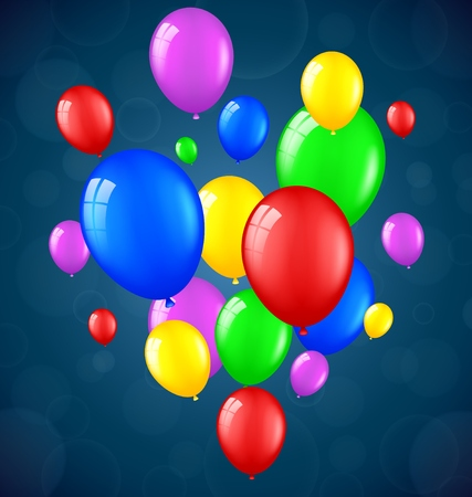 welcoming party: Birthday balloons