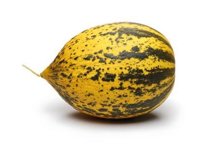 Whole Melon fruit isolated on white background
