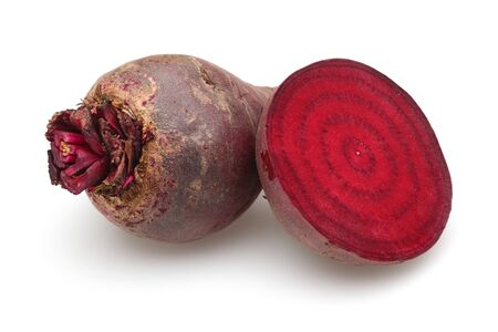 Fresh red beets isolated on white background Stok Fotoğraf - 130426269