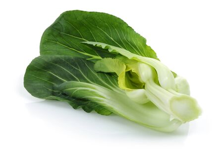 Bok Choy or Chinese cabbage isolated on white background Stok Fotoğraf - 130426353