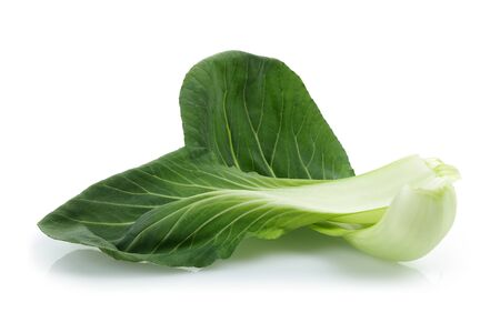 Bok Choy or Chinese cabbage isolated on white background Stok Fotoğraf