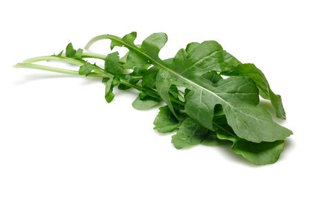 Bunch of fresh rucola isolated on white background 版權商用圖片 - 138322457