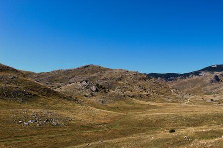 Landscape of Bjelasnica mountain. Bjelasnica Mountain in autumn, Bosnia and Herzegovina. Reklamní fotografie