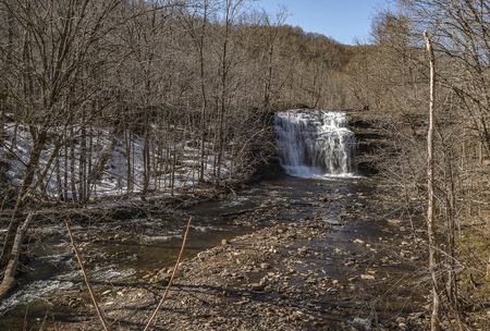 First Day of Spring at Pixley Falls, Boonville, New York