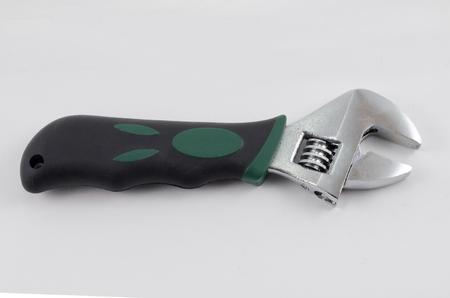 adjustable: adjustable wrench Stock Photo