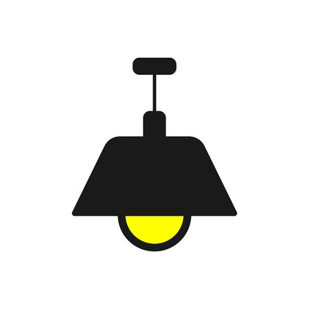 Lamp Icon. Lamp Sign Symbol Vector Illustration Stock Illustratie