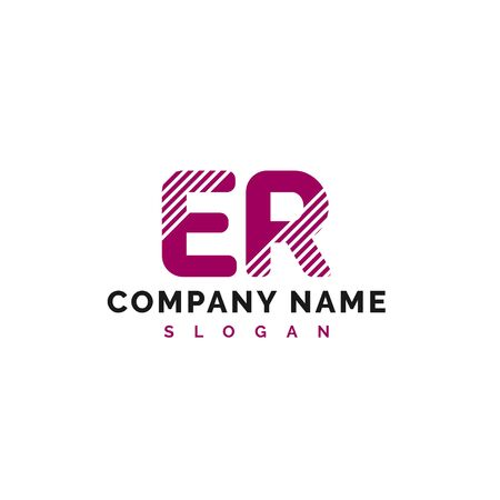 ER Letter Logo Design. ER letter logo Vector Illustration - Vector