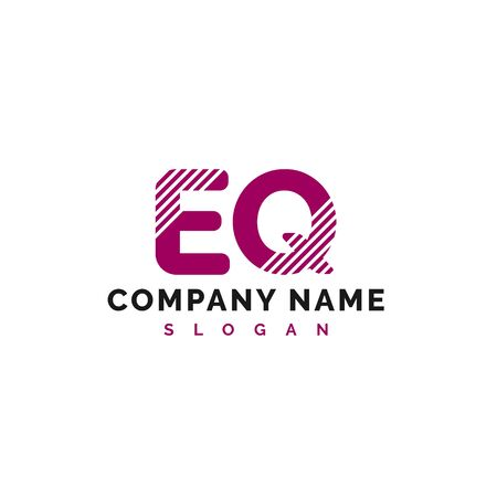 EQ Letter Logo Design. EQ letter logo Vector Illustration - Vector
