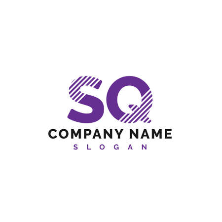 SQ Letter Logo Design. SQ letter logo Vector Illustration - Vector Logó