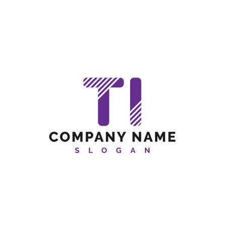 TI Letter Logo Design. TI letter logo Vector Illustration - Vector