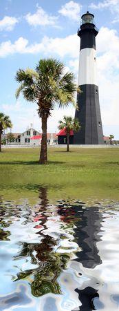Tybee Island Lighthouse Reflected