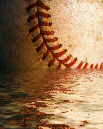 Baseball in Water