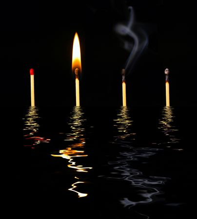 combust: Matches in Water