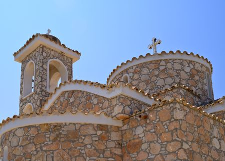 Old stone Church in Protaras, Cyprus
