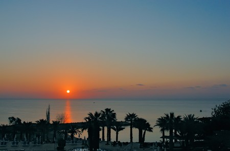 Sunset On Beach Stock Photo - 3994929