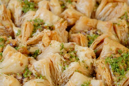 East sweets. Baklava