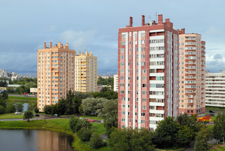Residential buildings Stock Photo - 7153646