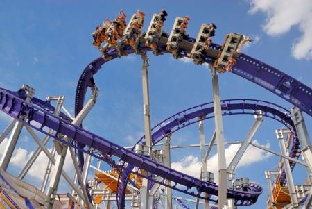Roller coaster  Stockfoto