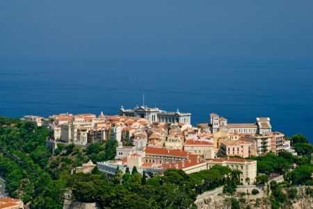 oceanography: Princely palace, Cathedral and Oceanography museum in Monaco old town