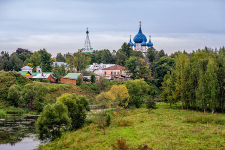 View of old russian town Suzdal photo