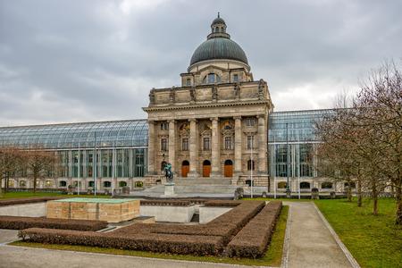 chancellerie: Bavaroise b�timent Chancellerie d'Etat � Munich. Allemagne