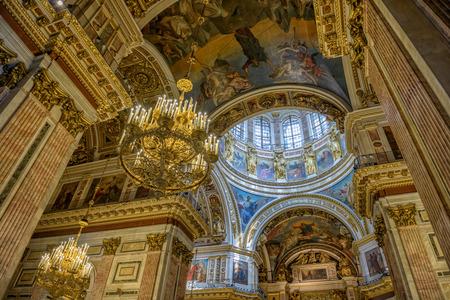 Interior of Saint Isaac