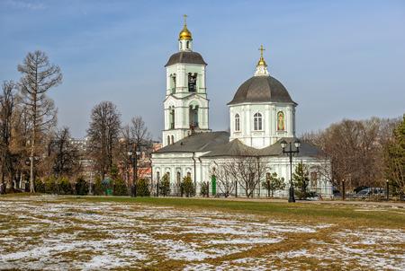 tsaritsino: Church in Tsaritsino park. Moscow. Russia